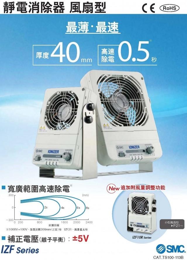 靜電消除風扇IZF(新)